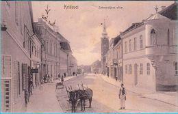 KRIZEVCI - Zakmardijeva Ulice. * Street Scene * Croatia * Travelled 1907. To Pregrada - Croatia