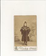 N. J. ANOUFFRIEF, SAINT PETERSBOURG - Photo Format Cabinet - Petite Fille - Photos