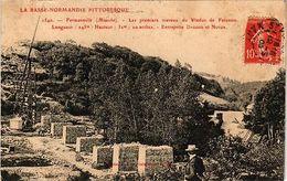 CPA  Fremonville (Manche) - Les Premiers Travaux Du Viaduc De Fatosme.. (246025) - Frankreich