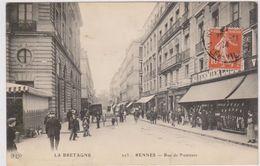 CARTE POSTALE   RENNES 35  Rue De Nemours - Rennes