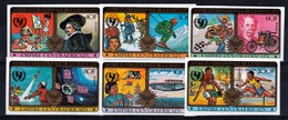 Central African Republic, International Year Of The Child, IMPERFORATED, 1979, MNH VF Complete Set Of 6 - Central African Republic