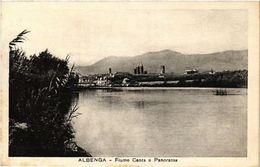 CPA ALBENGA Fiume Centa E Panorama. ITALY (506678) - Italy