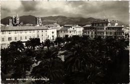 CPA ALBENGA Giardini Publicci . ITALY (506658) - Italy