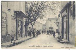 Cpa Rognonas - Place De La Mairie     (S.2420) - France