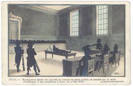 Cpa Signée Coulon - Robespierre Blessé ...    (S.2424) - Illustrators & Photographers