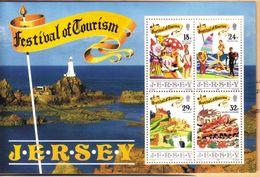 JERSEY 1990 FESTIVAL OF TOURISM MNH** Foglietto   NUOVO ** COD.FRA.1012 - Jersey