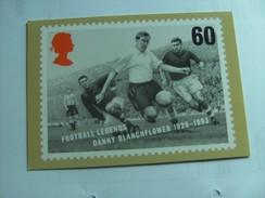 Famous Footballplayer Danny Blanchflower England - Sporters
