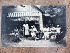 CPA VER SUR MER Bistrot Estaminet Café Bar AU PETIT ROBINSON 14 CALAVDOS Animée - Otros Municipios