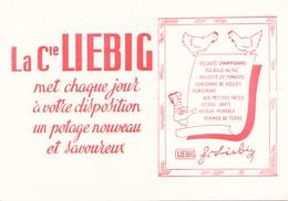 France Buvard Potage Liebig ( Pliure ) 20 Cm X 14,5 Cm - Soups & Sauces