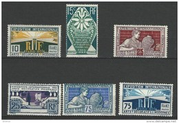 """FR YT 210 à 215 """" Exposition Des Arts Décoratifs """" 1924-25 Neuf* - France"""