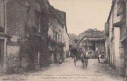 France CPA Cadouin La Grand Rue Et La Porte  (Dep.24) Dordogne (c4715) - Non Classés