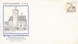 B PU 68/4**  Ersttagbrief -F.D-C.  Burg Ludwigstein, Berlin 12  - Privatumschlag - Berlin (West)