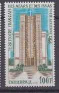 AFARS & ISSAS-1969-P.A N°61**CATHEDRALE DE DJIBOUTI - Ongebruikt