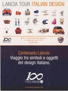 Cartolina - Lancia Tour Italian Design. Lancia 100 Years. Milano. Arco Della Pace, 5-10 Aprile 2006 - Manifestazioni
