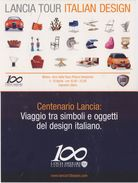 Cartolina - Lancia Tour Italian Design. Lancia 100 Years. Milano. Arco Della Pace, 5-10 Aprile 2006 - Demonstrations