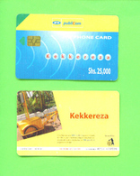 UGANDA - Chip Phonecard As Scan - Uganda
