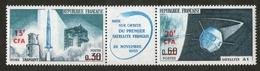 Réunion N° 369A  Mise En Orbite 1er Satellite Français Novembre 1965 - Unused Stamps
