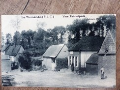 CPA La TIRMANDE Vue Principale 62 PAS DE CALAIS Animée Ecrite Circulée - Sonstige Gemeinden