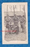 CPA Photo - Portrait De Mitrailleur Du 6e Régiment D' Infanterie Coloniale - Uniforme Casque - Mitrailleuse Hotchkiss - Unclassified