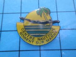 Pin511c Pin´s Pins / Beau Et Rare / SPORTS / NATATION CENTRE NAUTIQUE NOGENT SUR MARNE - Swimming