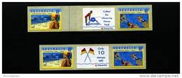AUSTRALIA - 1994 CENTENARY OF LIFE SAVING P&S SET OF 2 JOINED PAIRS WITH DIFFERENT TABS  MINT NH - Nuovi