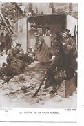 """MILITARIA (14-18) TRES BELLE CPA """"CUISINE DE LA CROIX ROUGE : BLéSSéS ET INFIRMIERE"""" SUP - Guerre 1914-18"""