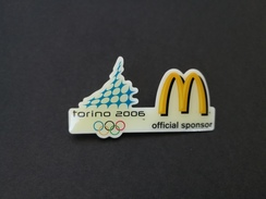 Pin Olimpiadi Torino 2006 Official Sponsor MC Donald's -P533 - Giochi Olimpici