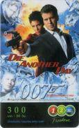 Mobilecard Thailand - 12Call - Movie,Film,cinema - James Bond - Die Another Day - Kino