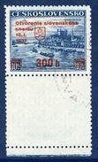 CZECHOSLOVAKIA 1939 Slovak Parliament Blank Label Used.  Michel A405 LF - Czechoslovakia