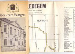 Kaart Gemeente Ledegem - Cartes Routières