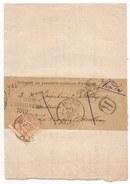 - Lettre - VAUCLUSE - AVIGNON - Càd S/tp Sage Type II N°94 - Convoc. S/bande - Recommandée - 1897 - 1876-1898 Sage (Type II)