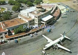 76927 URUGUAY MONTEVIDEO AIRPORT AEROPUERTO NACIONAL DE CARRASCO AVIATION POSTAL POSTCARD - Uruguay