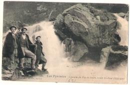 ----- 65----   CAUTERETS  Route Du Pont D'espagne  Cascade Du Pas De L'ours Et Les Guides - TTB - Cauterets