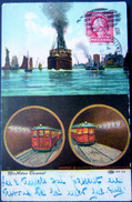 NEW YORK  METROPOLITAIN MAC ADOO TUNNEL  COUPE TRANSVERSALE - Autres