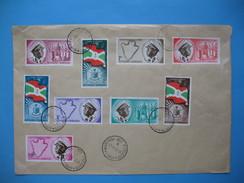 Burundi   FDC   Indépendance  Royaume Du Burundi 1962 - Burundi