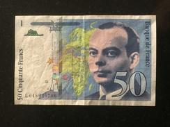 FRANCE 50 FRANCS 1999 - 1992-2000 Laatste Reeks