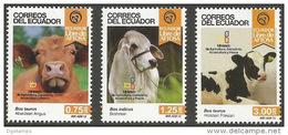 Ecuador 2015 ** Erradicacion De La Fiebre Aftosa.  See Desc. - Ecuador