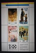 Chile 1995 Años Del Cine Yv.1254-1257**) - Cinema