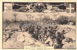 GUERRA ITALO-TURCA_TRIPOLI_L' 11 BERSAGLIERI Accerchiato Dal Nemico_26 Ottobre 1911 _Originale 100% - Other Wars
