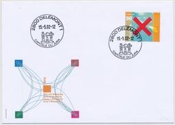 1053A EXPO - Blockausschnitt Auf Illustriertem FDC Gestempelt Delémont 1 - Capitale Du Jura - FDC