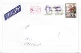 NIEDERLANDE - 3 Fach Frankierung Auf Brief - 2013-... (Willem-Alexander)