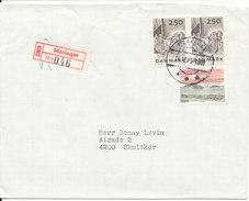 Denmark Registered Cover Sent To Norway Mariager 14-12-1979 - Denmark
