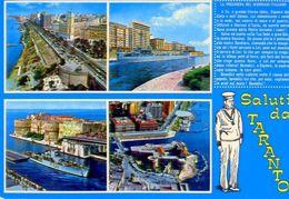 Saluti Da Taranto - Formato Grande Non Viaggiata – Ar - Taranto