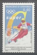 Andorra (French Adm.), 1998 Winter Olympics, Nagano, Japan, 1998, MNH VF - French Andorra