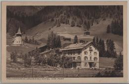 Frauenkirch - Hotel Zur Post - Photo: E. Meerkämper - GR Grisons