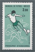 Andorra (French Adm.), 1986 FIFA World Cup, Football, Soccer, 1986, MNH VF - Unused Stamps