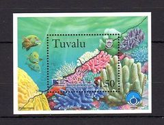 Tuvalu 1998 Coral Reef Life MNH -(V-23) - Marine Life