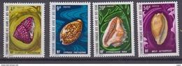 AFARS & ISSAS-1972-N°377/380** COQUILLAGES - Neufs