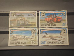 SWAZILAND - 1975 SERVIZIO P.   4 VALORI - NUOVI(++) - Swaziland (1968-...)