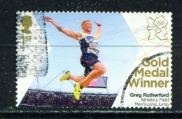 GREAT BRITAIN  -  2012 Olympic And Paralympic Games Gold Medal Winners  1st  Used As Scan - Used Stamps